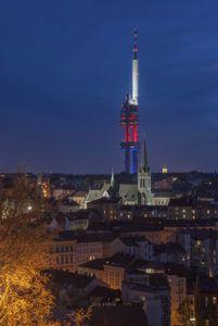 Praga, nadajnik telewizyjny