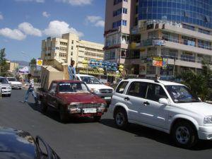 Ulica w Addis Abebie