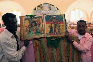 Księga z kościoła w Aksum