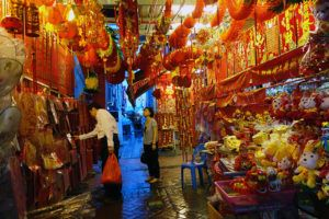 Dzielnica Fot.: Andrzej Zarzecki Chinatown w Singapurze