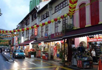 Dzielnica Chinatown w Singapurze