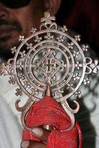 Krzyż w stylu Gonder