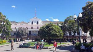 Pałac Prezydencki w Quito
